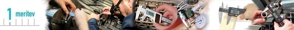 Pomično kljunasto merilo digitalno in analogno merilo za strojništvo ali kovinsko industrijo
