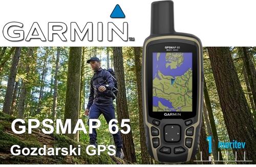 Gozdarski GPS MAP65 GOZD