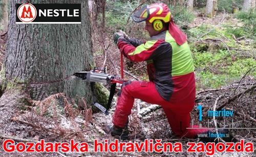 Gozdarska hidravlicna zagozda NESTLE