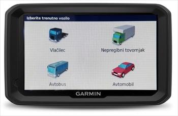 GARMNI GPS navigacija za Avtobus DEZL 580 BUS