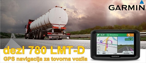 GARMIN GPS 780LMT navigacija za tovorna vozila