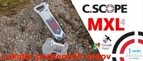 Lokator podzemnih vodov MXL 4 C.SCOPE