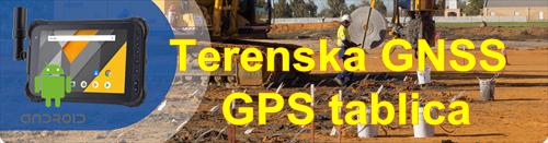 Terenski GIS GPS tablični računalnik GNSS tablica