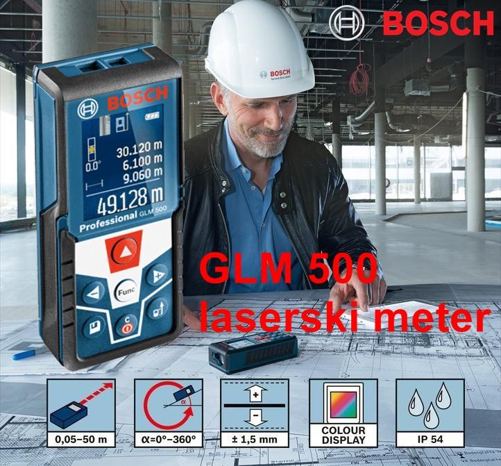BOSCH GLM500 ročni laserski meter