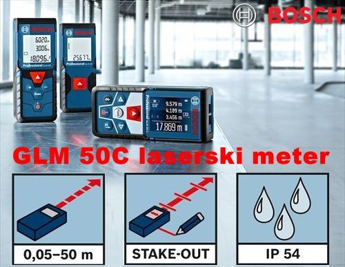 BOSCH GLM50C laserski meter