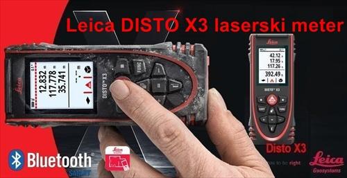 Laserski meter LEICA DISTO X3