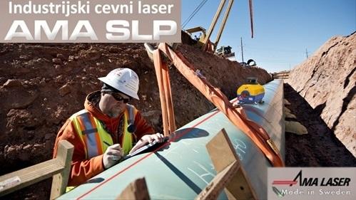AMA LASER SLP robusten cevni kanal laser