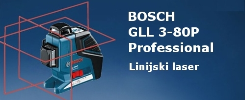 bosch gll 3 80 p professional linijski laser za notranje povr ine. Black Bedroom Furniture Sets. Home Design Ideas