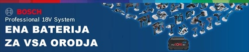 BOSCH GRL 600CHV Professionalnotranji laserski nivelir BATERIJE