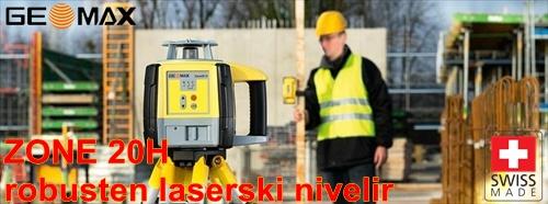 Gradbeni laser nivelir GeoMAX ZONE 20H