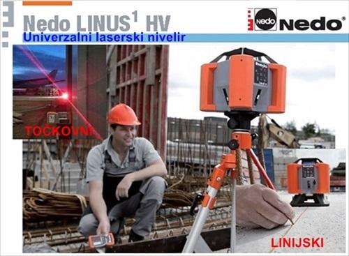 Univerzalni laserski nivelir Nedo LINUS TM