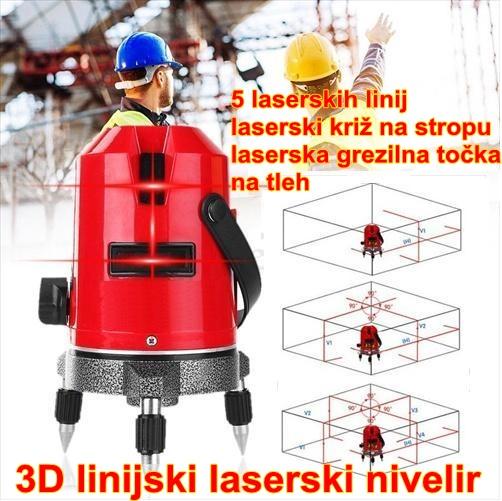 Linijski laserski nivelir CL-3D
