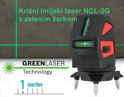 ZELEN Linijski laser NCL2G krizni laser nivelir