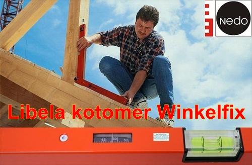 Naklonska libela NEDO Winkelfix Kotomer