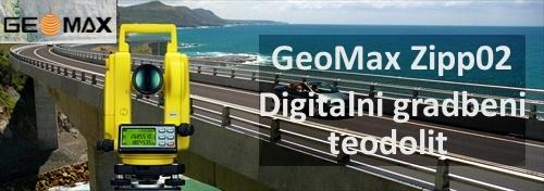 Gradbeni elektronski teodolit GeoMax ZIPP