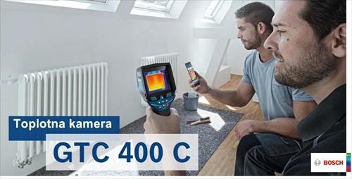 BOSCH GTC400C Professional termovizijska toplotna kamera