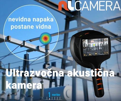 Ultrazvočna akustična kamera NL