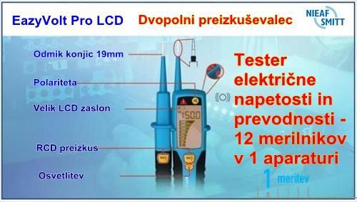 Tester elektricne napetosti Easy VOLT