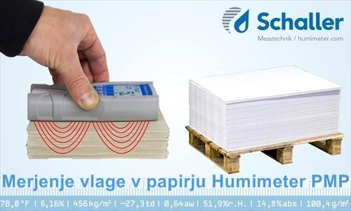Merilec vlažnosti tiskarskega papirja Humimeter PMP