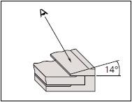 MITUTOYO Pomično analogno merilo pogled